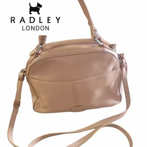 Radley Dukes Place Leather Tote/Crossbody Handbag